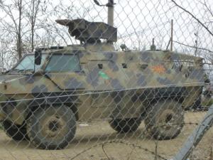 Mazedonischer Spähpanzer BRDM 2